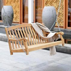 Shop Sam's Club for patio sets, conversation sets, teak outdoor furniture and high top patio seating. Lawn Swing, Canopy Outdoor, Outdoor Decor, Northern White Cedar, Swing Seat, Swinging Chair, Mortise And Tenon, Dream Rooms, Wood Construction