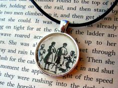 Necklaces: Create a book-page necklace with a cutout of your favorite text or illustration. You can paint the piece with lacquer, or glue a glass gem on top of the cutout to turn it into a durable pendant.