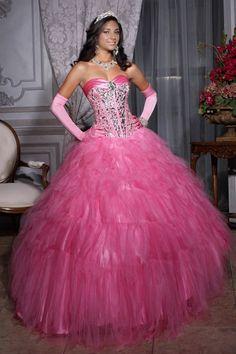 Ball Gown Sweetheart Sleeveless Floor Length Rhinestone Quinceanera Dresses