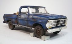 1969 Ford F100 Pickup Pro Built Weathered Barn Find Junkyard Custom 1/25 Moebius