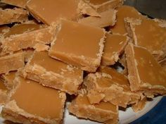 Scottish Tablet georgious! confectionary yum yum! but very calorific pure SUGAR! a lovely treat now and again
