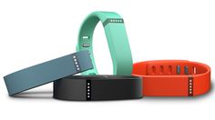 Fitbit Flex activity tracker - tracks steps per day and quality of sleep.