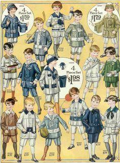 1912 Boys' Fashions