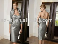Sheath gown short mother of the bride dress SL-4840 on AliExpress.com. $121.05