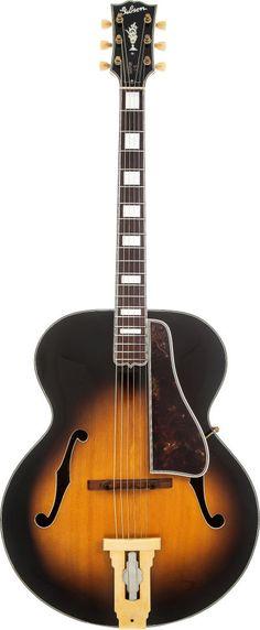 1947 Gibson L5 Sunburst Archtop Acoustic Guitar, Serial # 99857