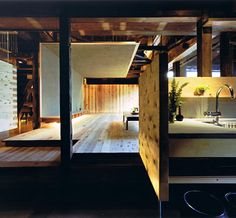 renovation of 200-year-old family house in nara, japan. tadashi yoshimura.