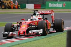Sebastian Vettel Scuderia Ferrari SF16-H Great British Grand Prix