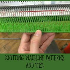 All about machine knitting patterns and tips. All about machine knitting patterns and tips. Knitting Machines For Sale, Brother Knitting Machine, Circular Knitting Machine, Knitting Machine Patterns, Easy Knitting Patterns, Knitting Charts, Knitting Stitches, Baby Knitting, Vogue Knitting
