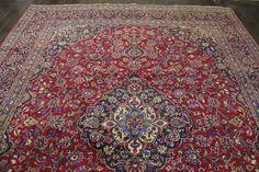 Fantastisk Äkta persisk Kashan matta (Handknuten) Mått 382cm x 282cm