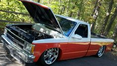 Fs: 84 Bagged Chevy longbed w/tpi 350 Bagged Trucks, Lowered Trucks, Mini Trucks, Gm Trucks, Chevy Trucks, Chevy S10 Xtreme, Crack In Windshield, S10 Truck, Chevy Chevrolet