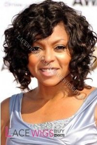"""12"""" Water Wave #4 Lace Front Wigs 100% Indian Remy Human Hair"""