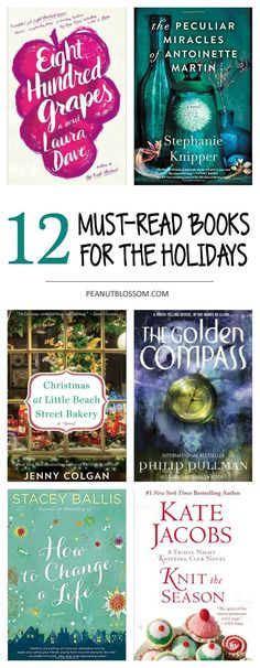 12 lighthearted Christmas books for adults. What an awesome book list for book club during the busiest time of year. These easy page turners are the perfect way to end the year and finish your reading goal.