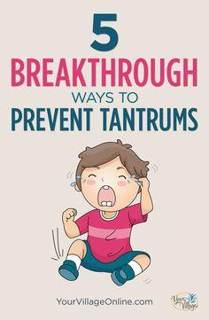 Must use techniques for preventing #tantrums #parenting #parentingadvice