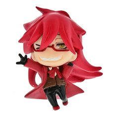 Black Butler Book of Circus Grelle Swing Key Chain