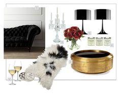 """S&M Valentines"" by kowanse on Polyvore featuring interior, interiors, interior design, дом, home decor, interior decorating, Flos, Baccarat, Toast и LAND"
