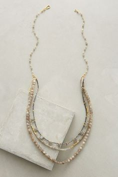 Doba Gemstone Necklace - anthropologie.com #anthroregistry