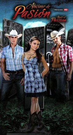 #Novelas- David Zepeda, Mark Thatcher and Angelique Boyer.  This is getting sooo good!