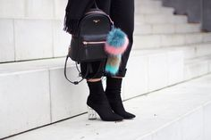 boots, public desire, pompom, backpack, ootd, outfit, street style, fall, zara, pomikaki, levis,