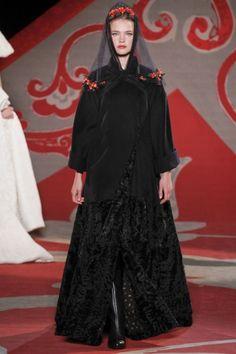 Ulyana Sergeenko Haute Couture Fall 2012 Collection