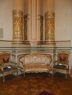 Teatro Colon salon de recepcion, detalles
