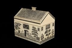 Indian Ivory House Sewing Box Circa 1820
