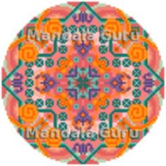 I am Andrea, I live in Austria, like the color orange, I am a Scorpio and this is my personalized Cross Stitch Mandala :-) Create your own Design by following the link Mandala Design, Cross Stitch Designs, Scorpio, Austria, Orange Color, Create Your Own, Kids Rugs, Live, Home Decor