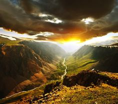 Siberia's Altai Mountains.