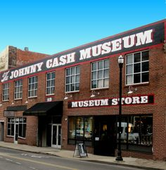 The outside of the Johnny Cash museum. THIS IS ON MY BUCKET LIST. I WILL GO TO THE GREAT JOHNNY CASH MUSEUM BEFORE I DIE.