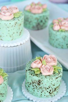 Must Make: Mini Speckled Egg Cakes