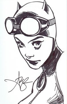 Amy Reeder - Catwoman Comic Art
