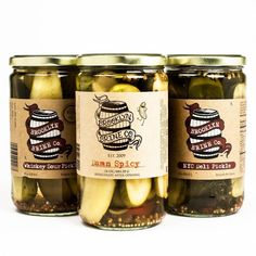 This collection includes: Damn Spicy Pickles by Brooklyn Brine: Brooklyn Brine takes their classic deli pickle and turns the heat up to 11. Whole chile peppers bob innocently in the brine, quietly inf