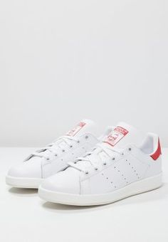 half off 29621 1405c Baskets adidas Originals STAN SMITH LUXE - Baskets basses -  white collegiate red blanc  € chez Zalando (au Livraison et retours  gratuits et service client ...