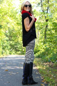 chic legging look