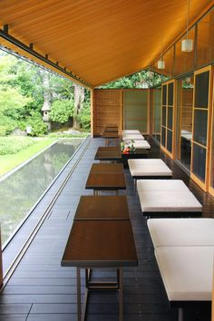 Toraya - Japanese Confectionery Japanese Coffee Shop, Japanese Shop, Japanese Modern, Japanese Interior, Japanese House, Cafe Restaurant, Restaurant Design, Exterior Design, Interior And Exterior