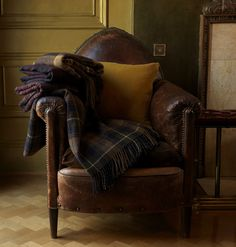 With Burns Night approaching, it's time for a highland fling with 100% cashmere tartan blankets