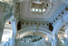 Inside the Cibeles Palace in #Madrid