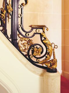 Main staircase detail ~ Carolands Palace ~ Hillsborough, CA