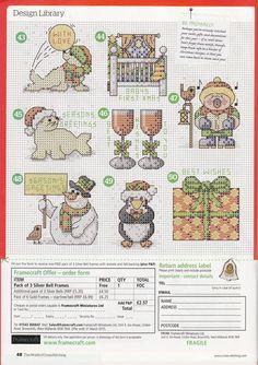 Natty's cross stitch corner: 50 Small Christmas Motifs.