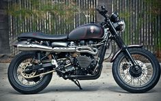 Hawkized Triumph Scrambler by Roland Sands Design - Custom Motorcycles & Classic Motorcycles - BikeGlam British Motorcycles, Cool Motorcycles, Triumph Motorcycles, Tony Hawk Bike, Triumph Scrambler Custom, Scrambler Motorcycle, Roland Sands, Classic Car Insurance, Hawkgirl