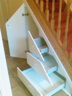Under stairs 3 - the small drawers might fit