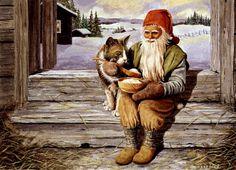 Swedish Christmas, Scandinavian Christmas, Christmas Elf, Humanoid Mythical Creatures, Baumgarten, Creation Photo, Elves And Fairies, Jaba, Animation