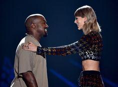 Pin for Later: Taylor Swift et Kanye West Se Retrouvent Lors des MTV VMAs