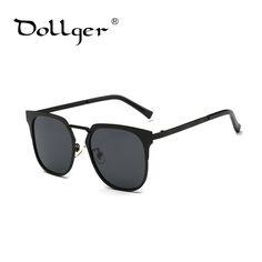 Dollger 2016 New fashion metal gold mirror sunglasses designer luxury sunglasses nerd sunglasses women uv400 s1195