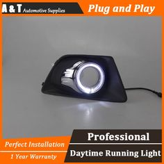 97.50$  Watch here - http://alipqz.worldwells.pw/go.php?t=32696120388 - A&T car styling For Ford Ecosport LED DRL For Ecosport High brightness guide LED DRL led fog lamps daytime running light A style