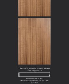 Modern Walnut Slab Veneer Cabinet Door By Taylorcraft Company Http Taylorcraftdoor