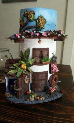 Bb Reborn, Biscuit, Carton Box, Pasta Flexible, Mural Art, Wooden Crafts, Easy Diy Crafts, Fairy Houses, Bottle Art