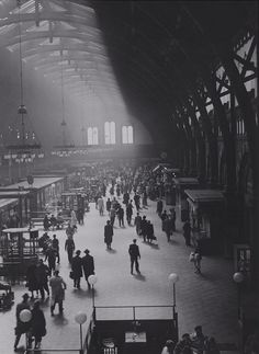 Copenhagen central station 1930
