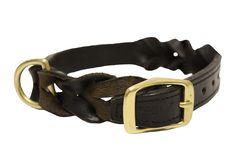 Angel Pet Supplies #Braided Dog #Collar in Black