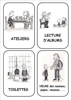 Affichage classe - Ecole de Nadège