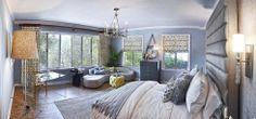 2013 Pasadena Showcase House Bedroom Suite - L2 Interiors